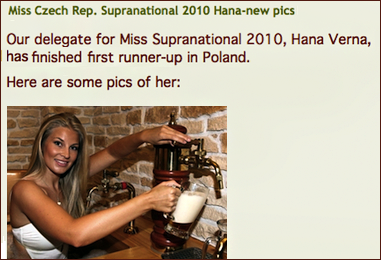 What I found after entering Anna's pic in Google image search engine.